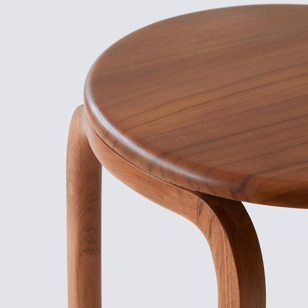Side Table Teak.Modern Wood Side Table Handcrafted In Indonesia The Citizenry