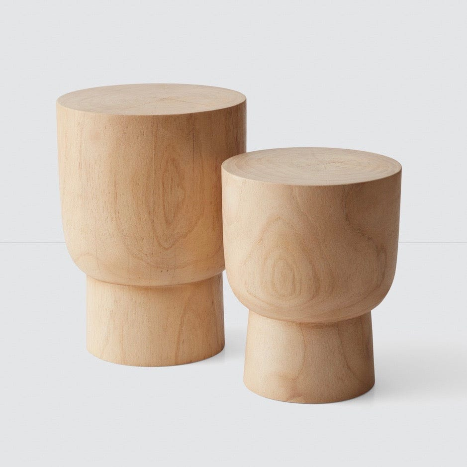 Peachy Lawu Stump Stool Mindi Multiple Sizes Andrewgaddart Wooden Chair Designs For Living Room Andrewgaddartcom