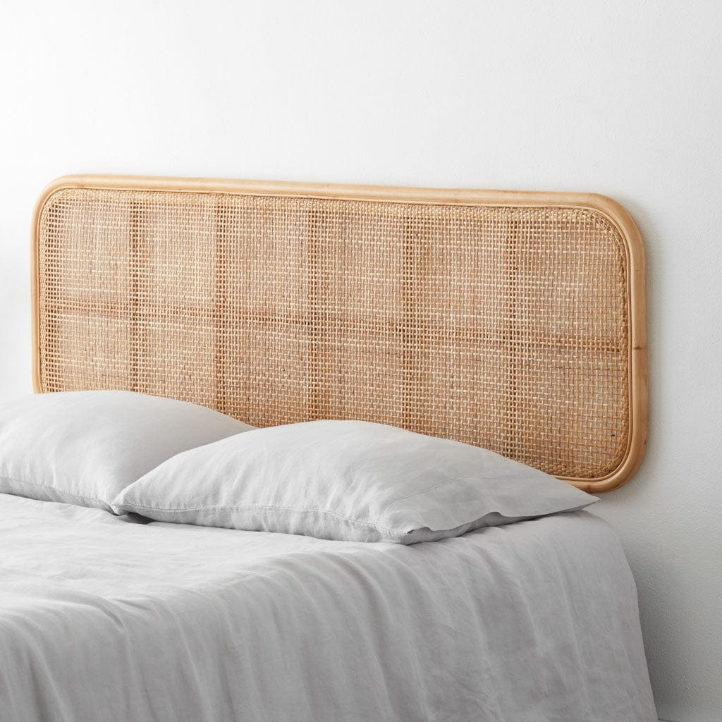 Modern Hanging Cane Headboard Handcrafted In Indonesia The Citizenry