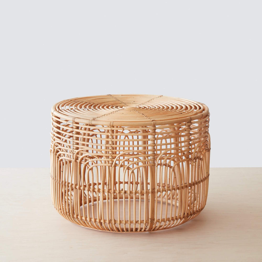 Naga Rattan Side Table
