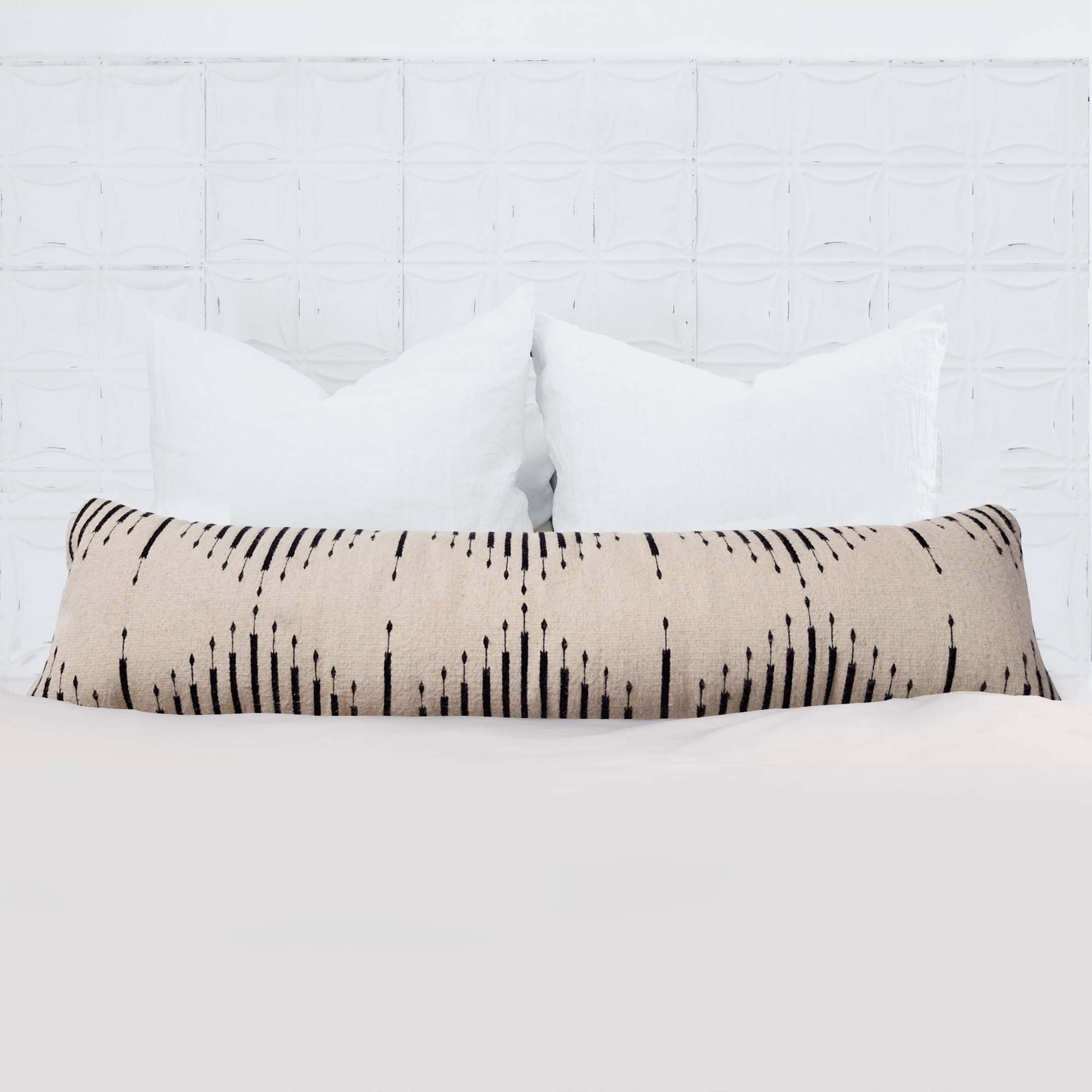 Modern Lumbar Pillow Long Decorative Pillows From The Citizenry