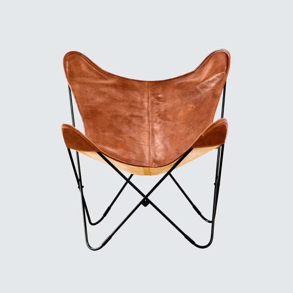 Palermo Chair – Black & Cognac