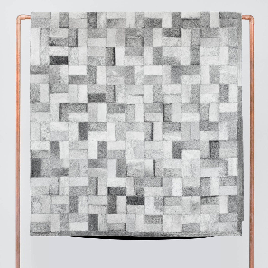 Cowhide Patchwork Rug 8 X 10 Rugs The Citizenry