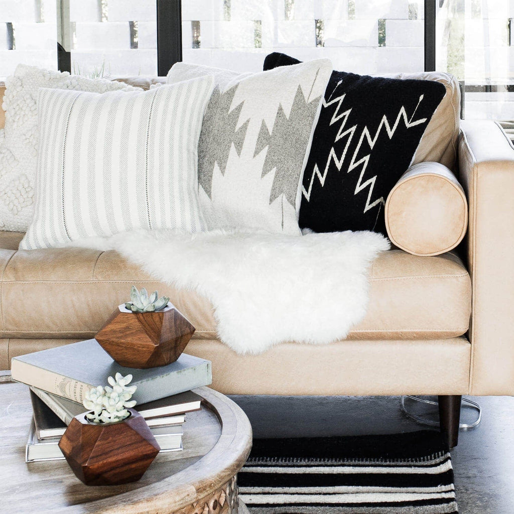 White Sheepskin Throw | Ethically Sourced from Argentina – The Citizenry