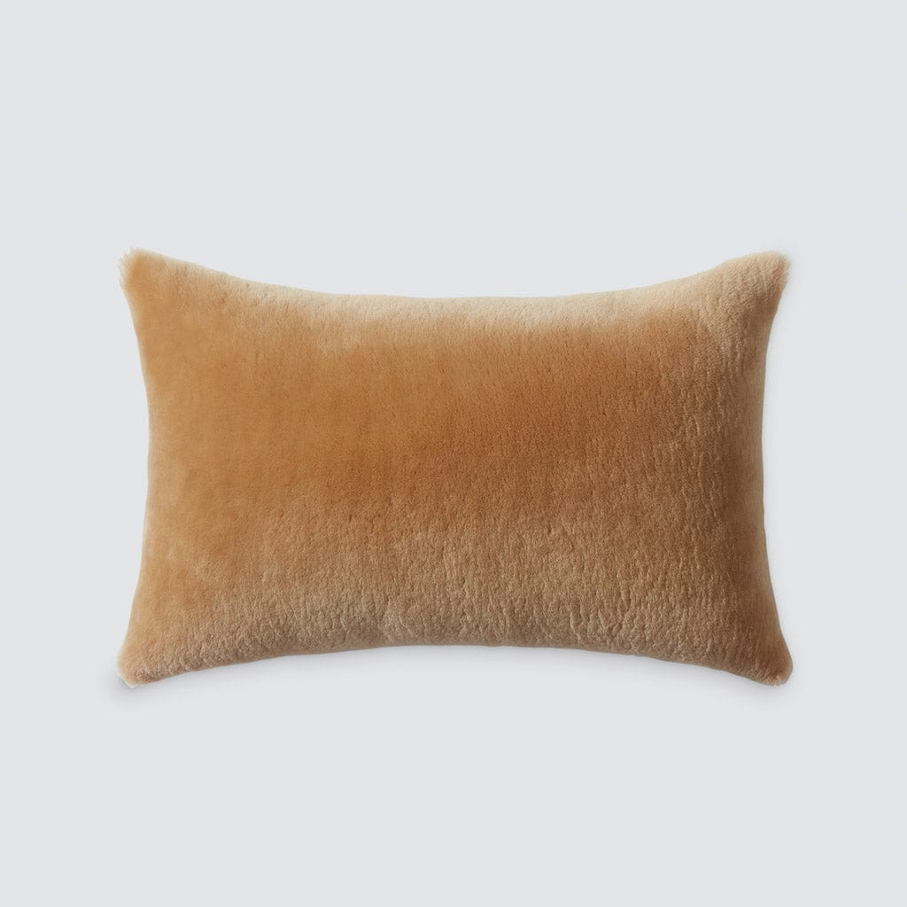 Picture of: Sheepskin Lumbar Pillow Hancrafted In Portugal The Citizenry