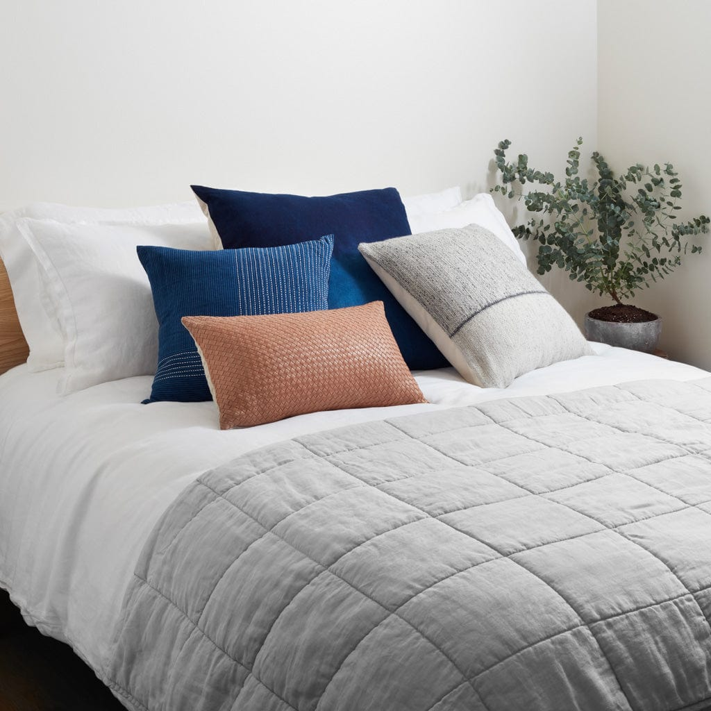 Stonewashed Linen Quilt The Citizenry