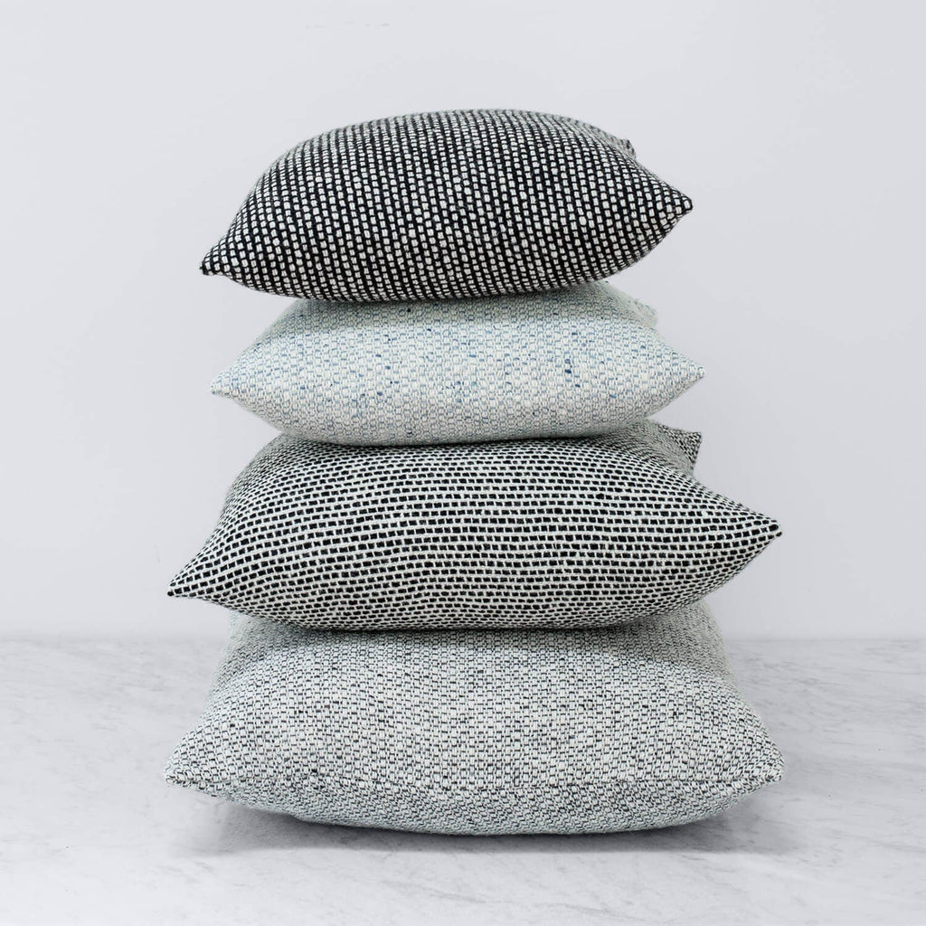 Grey Wool Throw Pillow : Wool Throw Pillows Grey Tweed Pattern ? The Citizenry