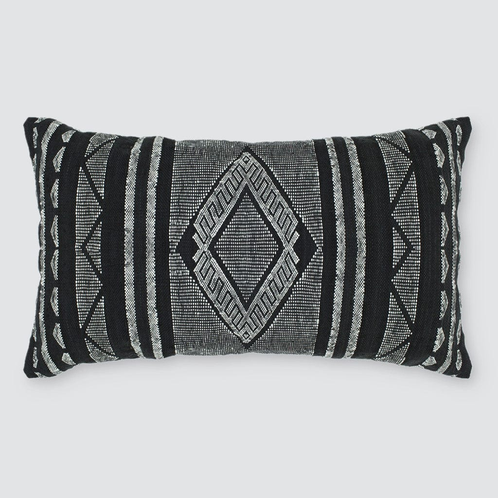 Black and White Bohemian Pillows from Morocco
