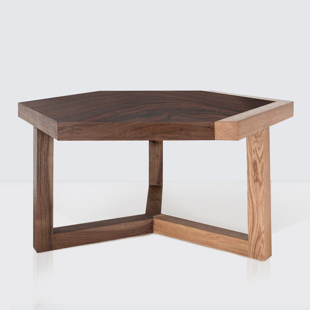 Wood Coffee Tables Hexagon Coffee Table The Citizenry