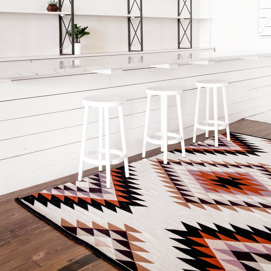 Bright Multicolored Area Rugs Hand Woven Wool Rug The Citizenry