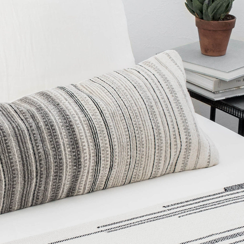 The Citizenry Madera Lumbar Pillow The Citizenry