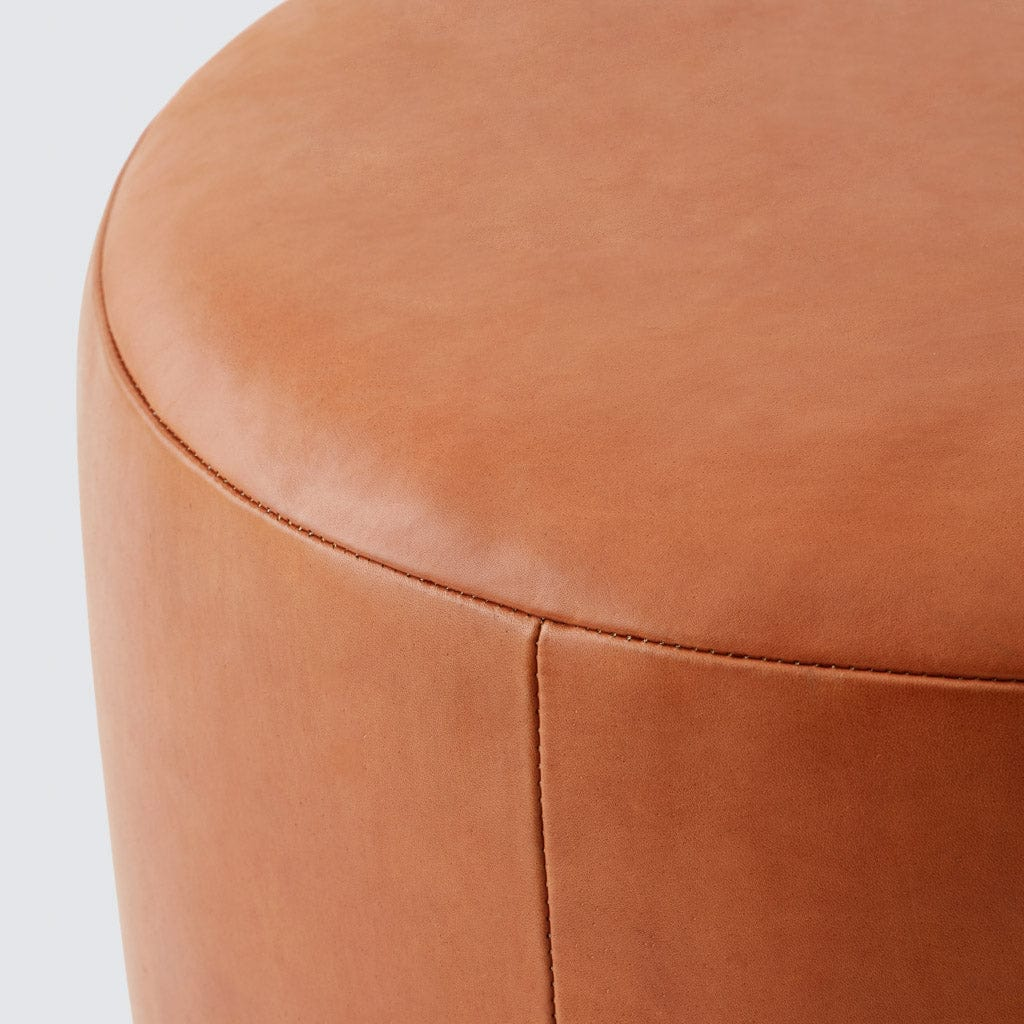 Magnificent Torres Leather Ottoman Medium Large Pabps2019 Chair Design Images Pabps2019Com