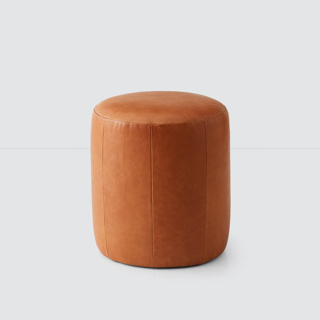 Swell Torres Leather Ottoman Small Ibusinesslaw Wood Chair Design Ideas Ibusinesslaworg