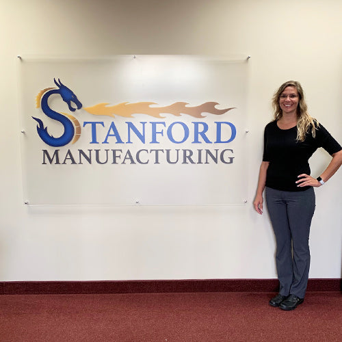 Tracy Forrester joins Stanford Manufacturing as Quality Engineer