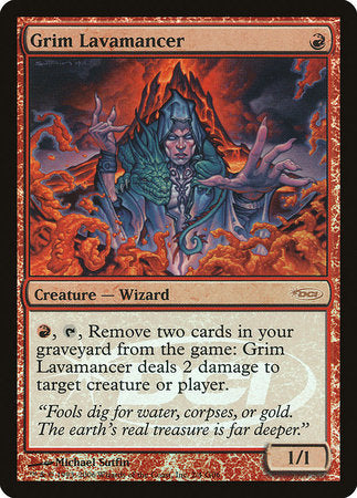 Grim Lavamancer [Judge Gift Cards 2006] | The CG Realm