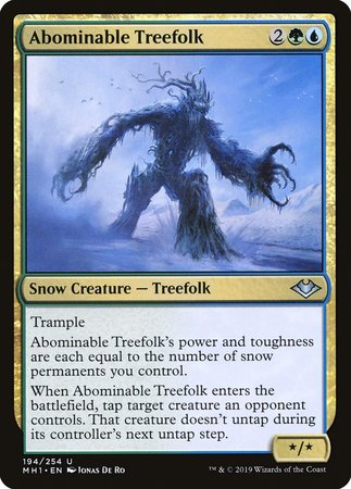 Abominable Treefolk [Modern Horizons] | The CG Realm