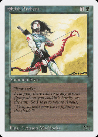Elvish Archers [Revised Edition] | The CG Realm