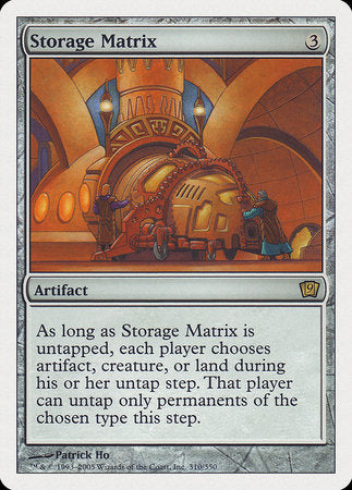 Storage Matrix [Ninth Edition] | The CG Realm