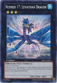 Number 17: Leviathan Dragon [BP01-EN027] | The CG Realm
