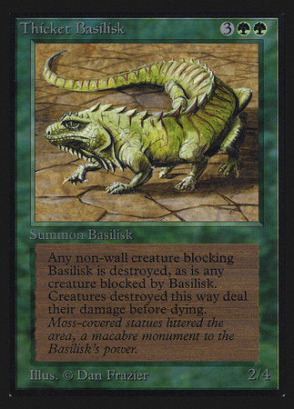Thicket Basilisk (IE) [Intl. Collectors' Edition] | The CG Realm
