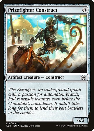 Prizefighter Construct [Aether Revolt] | The CG Realm