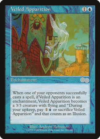 Veiled Apparition [Urza's Saga] | The CG Realm