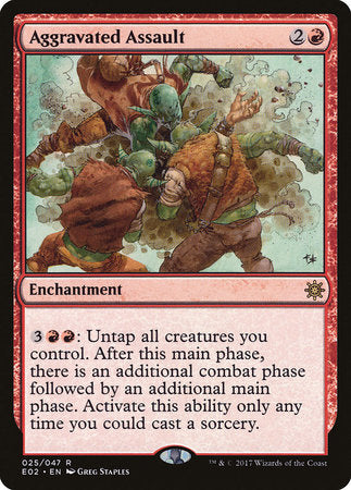 Aggravated Assault [Explorers of Ixalan] | The CG Realm