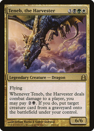 Teneb, the Harvester [Commander 2011] | The CG Realm