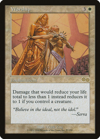Worship [Urza's Saga] | The CG Realm