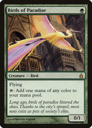 Birds of Paradise [Ravnica: City of Guilds] | The CG Realm