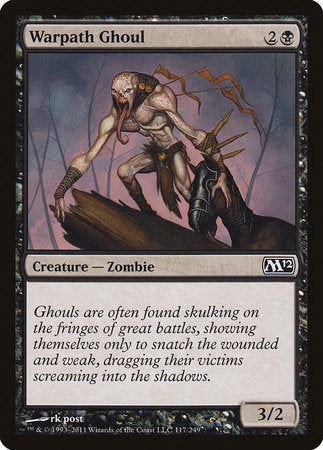 Warpath Ghoul [Magic 2012] | The CG Realm