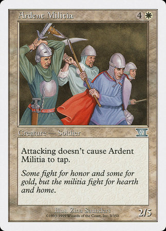 Ardent Militia [Classic Sixth Edition] | The CG Realm