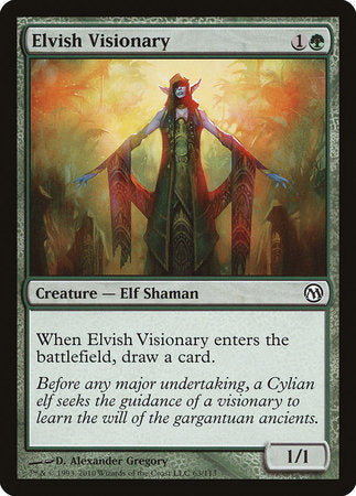 Elvish Visionary [Duels of the Planeswalkers] | The CG Realm