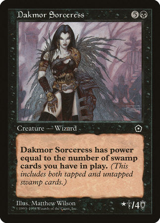 Dakmor Sorceress [Portal Second Age] | The CG Realm
