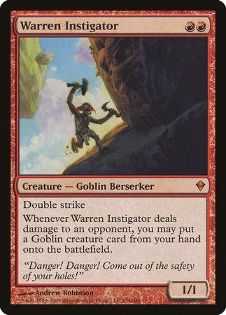 Warren Instigator [Zendikar] | The CG Realm