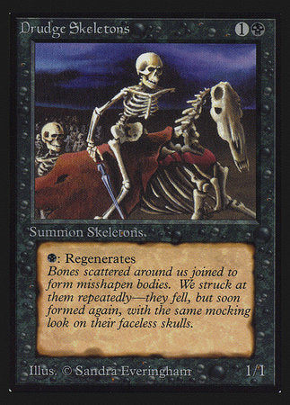 Drudge Skeletons (IE) [Intl. Collectors' Edition] | The CG Realm