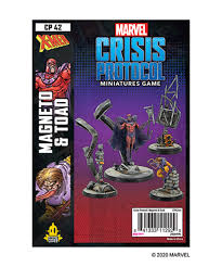 Marvel Crisis Protocol Magneto & Toad | The CG Realm