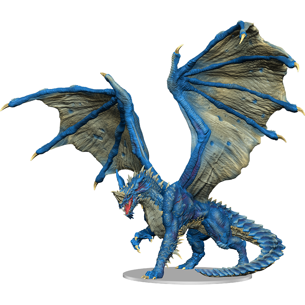 DND ICONS: ADULT BLUE DRAGON PREMIUM | The CG Realm