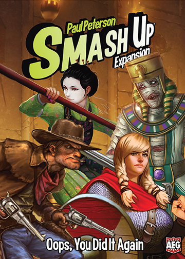 SMASH UP: OOPS YOU DID IT AGAIN | The CG Realm