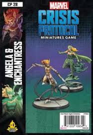 Marvel Crisis Protocol: Angela & Enchantress | The CG Realm
