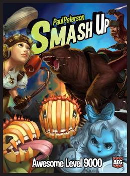SMASH UP: AWESOME LEVEL 9000 | The CG Realm
