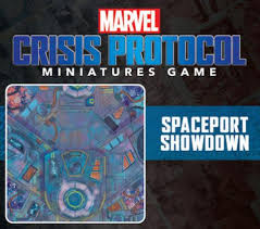 Marvel Crisis Protocol Playmat Spaceport Showdown | The CG Realm
