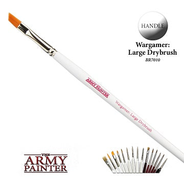 WARGAMER BRUSH - LARGE DRYBRUSH | The CG Realm