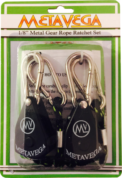 1/8th  Rope Ratchet Set