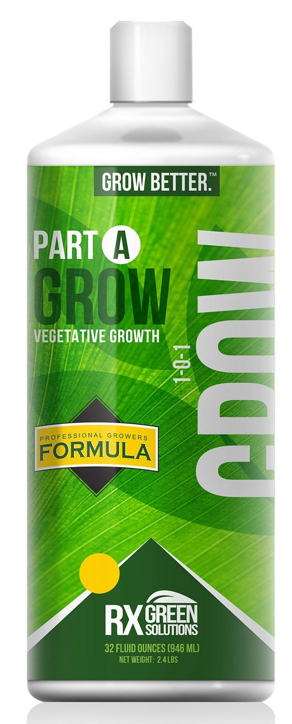 Rx Green Solutions Part A Grow Vegetative Growth