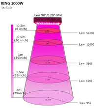 Load image into Gallery viewer, King Plus 1000w LED Grow Light -  Full Spectrum