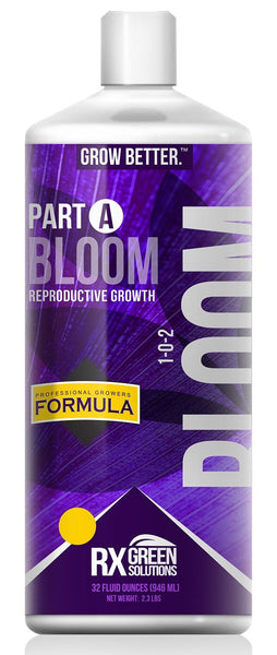 Rx Green Solutions Part A Bloom Reproductive Growth