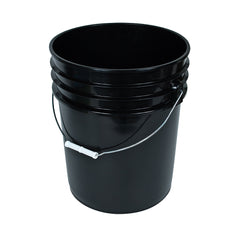 Black Bucket w/ Handle, 5 gal
