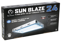 Load image into Gallery viewer, Sun Blaze T5 HO Fluorescent Lighting Fixture with 4 Lamps - 2-Feet