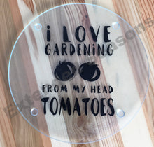 Load image into Gallery viewer, I Love Gardening Cutting Board